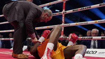 Teljesen felépülhet agysérüléséből a kanadai bokszvilágbajnok