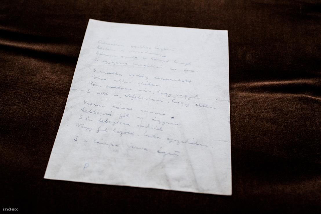 Az Álmatlan, gyilkos lázban kéziratát egy szállodai szemeteskosárból menekítette meg az Adyval közeli barátságot ápoló Bölöni György felesége, Itóka.