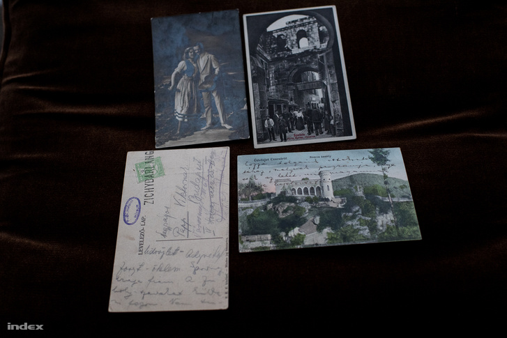 A PIM nemcsak leveleket, hanem képeslapokat is őriz Adytól.