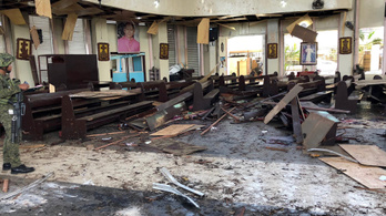 Mise közben, majd a mentés alatt is robbantottak terroristák a Fülöp-szigeteken