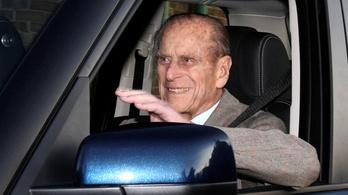 A 97 éves Fülöp herceg mélyen sajnálja, hogy balesetet okozott