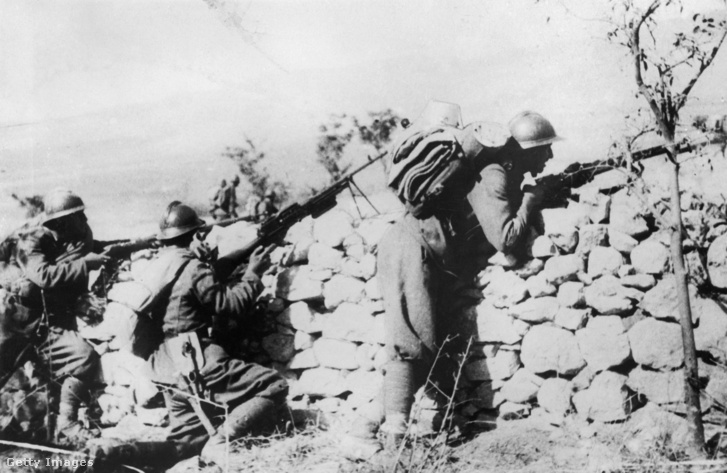 II. Világháború Albániában.