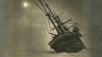 Száz éve elsüllyedt hajót keresnek az Antarktisznál