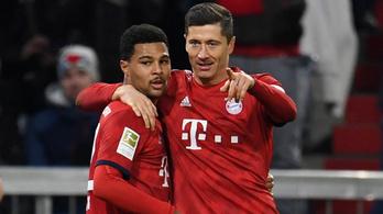 A Bayern München döcögös kezdés után letarolta a Stuttgartot