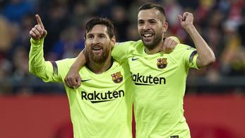 Messi folytatta őrült sorozatát, a Barcelona megverte a Gironát