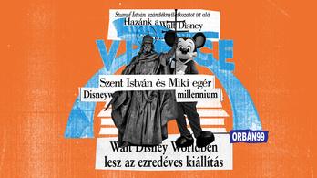 A Disney Worldbe terveztek Orbánék egy millenniumi magyar kiállítást