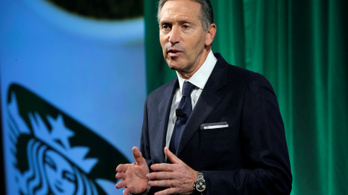 Elnökjelölt lenne a Starbucks volt vezére