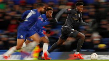 FA-kupa: a Tottenham kiesett, a Chelsea továbbment