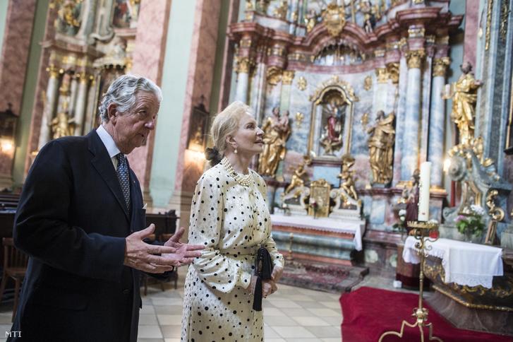 Habsburg-Lotharingiai Mihály és HRH Princess Michael of Kent