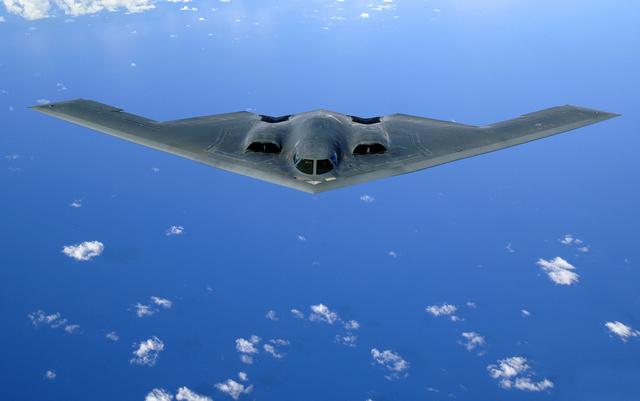 A B-2 bombázó