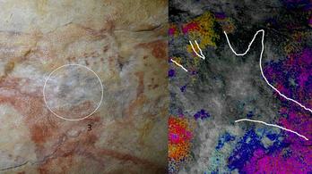 Ősembergyerek tenyérlenyomatát is megtalálták az Altamira-barlangban