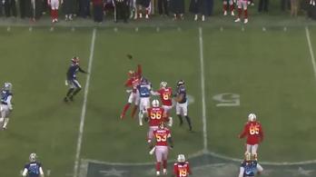 Játszótéri őrületbe fordult át az NFL Pro Bowl, végre!