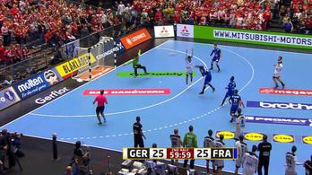 Zaklatott végjáték, utolsó mp-es döntő gól a kézibronzmeccsen