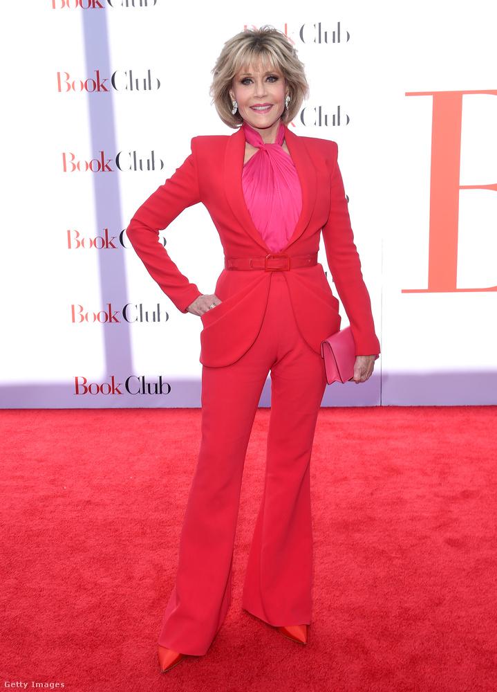 ...a másikuk pedig a 81 esztendős Jane Fonda.Vele búcsúzunk, viszlát!