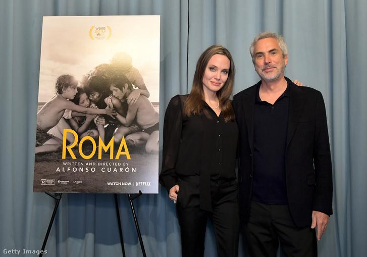 Angelina Jolie és Alfonso Cuarón