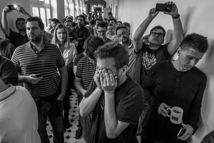 Képriport 2. díjMagyar Nemzet utolsó napja