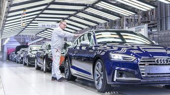 Leállt a termelés az Audi ingolstadti üzemében a győri sztrájk miatt