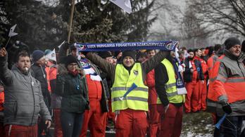 Egy német gyár is leáll a győri Audi-sztrájk miatt