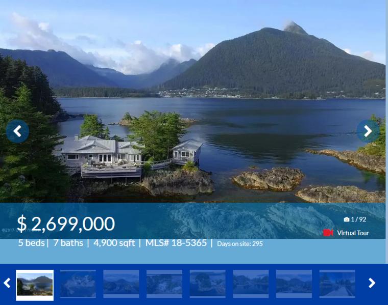 Tegyük fel, hogy van annyi pénze, hogy többszáz millióért vegyen ingatlant! Mit választana? Egy rózsadombi villát, vagy egy alaszkai szigetet? Ezt most azért kérdezzük, mert jelenleg mindkettőből van a piacon, ugyanazért az árért