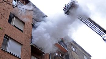 Durván megnőtt a lakástüzek száma januárban, óránként gyullad ki ingatlan