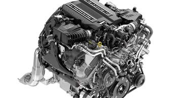 A Cadillac kivételesen büszke új V8-asára