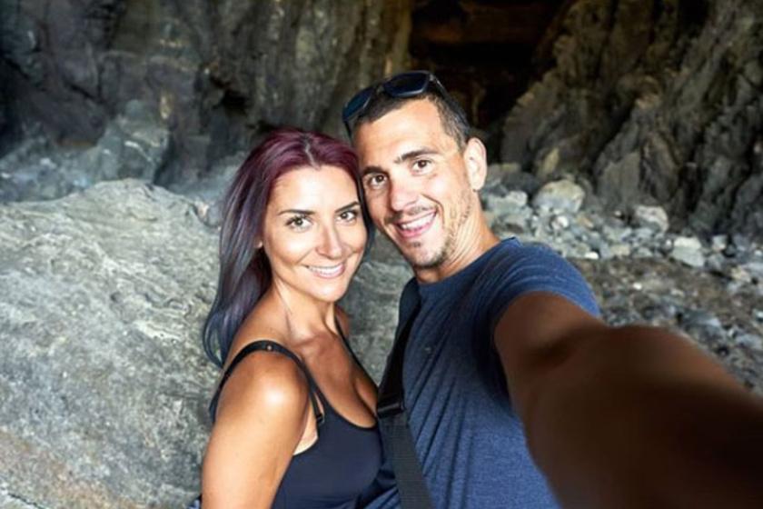 Cseh Laci és gyönyörű felesége, Dia már 2007 óta alkotnak egy párt.