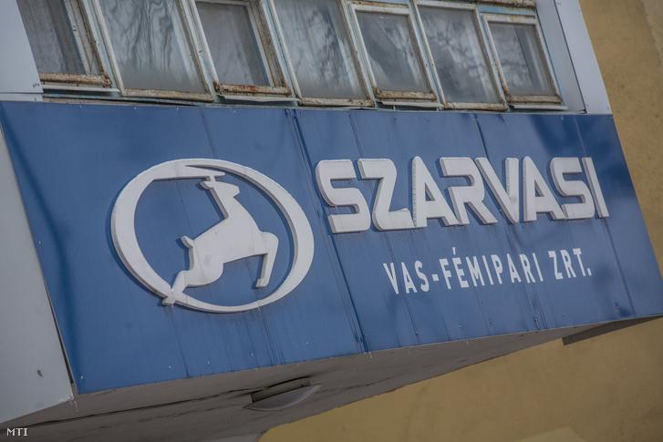 A Szarvasi Vas-Fémipari Zrt. üzeme Szarvason 2019. január 25-én