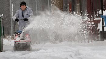 Chicagóban hidegebb lesz a héten, mint az Antarktiszon