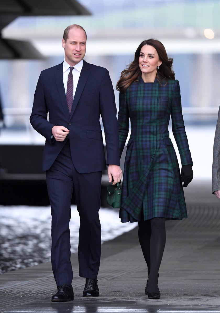 Katalin hercegné mindig igyekszik tisztelettel adózni az ország előtt, ahová ellátogatnak. Általában helyi tervező kreációját vagy a nép hagyományos mintáit viseli.
