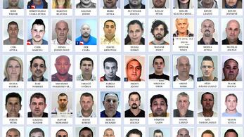 Megnéztük, kik Magyarország legkeresettebb bűnözői