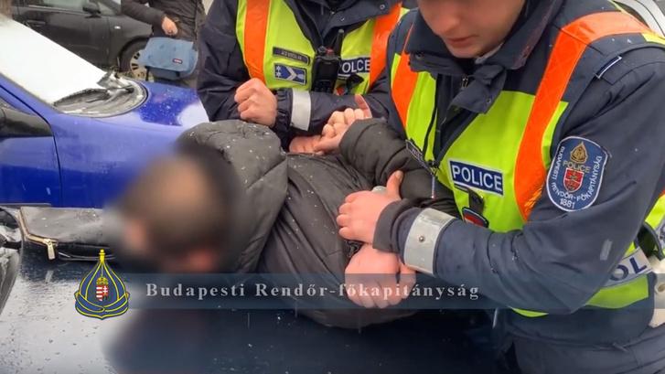 Drogdílereket fogtak el Budapesten 2019. január 28-án