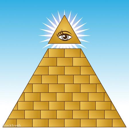 Az Illuminati mindent látó szeme