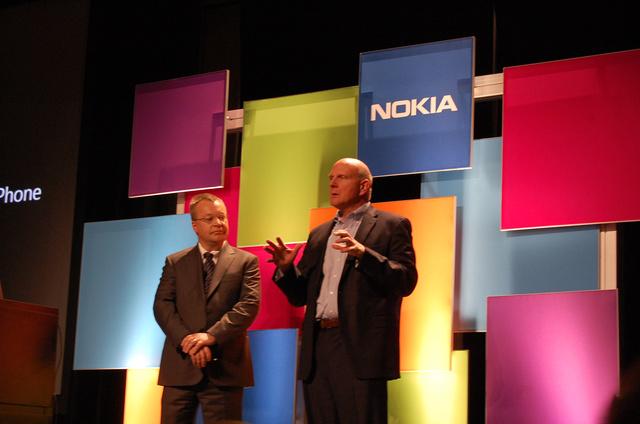 Steve Ballmer és Stephen Elop