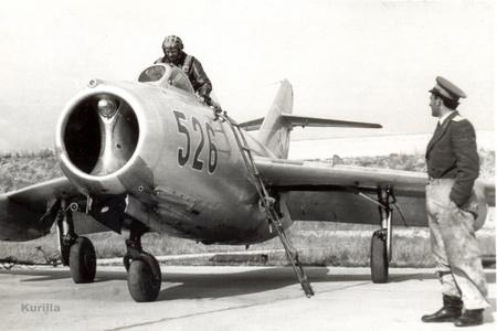 Egy magyar MiG-15-ös az ötvenes évekből