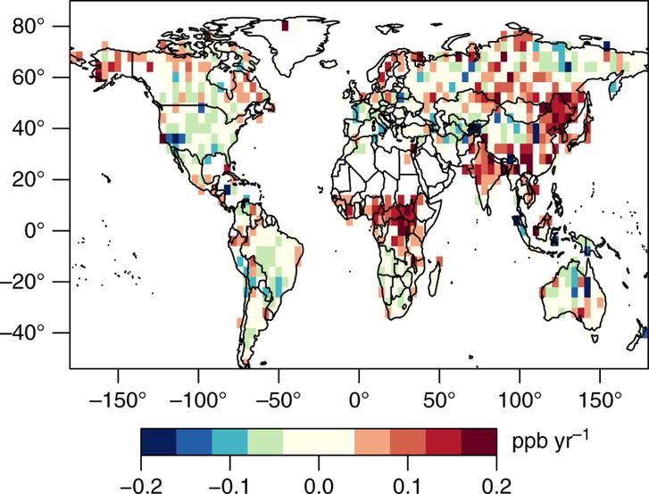 Pirossal: a GOSAT adatai alapján a metánt leggyorsabb tempóban kibocsájtó területek