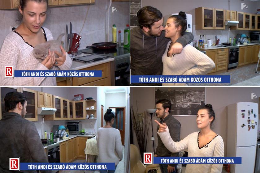 Tóth Andi és Szabó Ádám konyhájában minden fontos kellék megtalálható.
