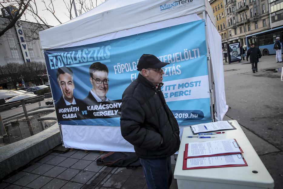 6c23ea965f60 Index - Belföld - Népszava: 32 ezren szavaztak az előválasztáson