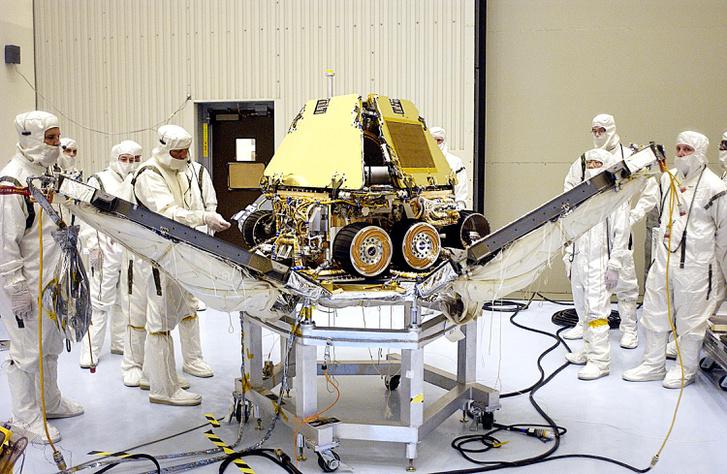 Opportunity Lander Petals PIA04848
