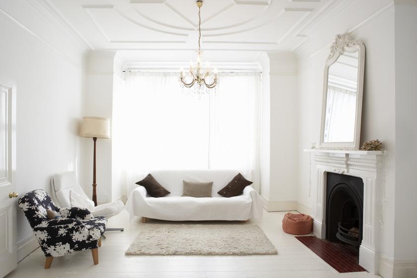 Fényárban úszó nappali télen is: csak néhány trükk, és télen is világos lesz a szobád