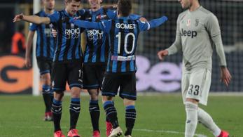 Az Atalanta vetett véget a Juventus szárnyalásának