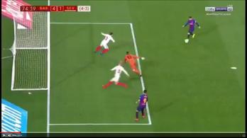 Messi szuperzicceréből zseniális védés