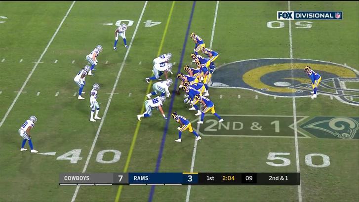 A Rams elég szűkre összehúzott 11-ese