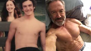 Ez a férfi azt mondja, így a 60-on túl jobban néz ki, mint húszévesen