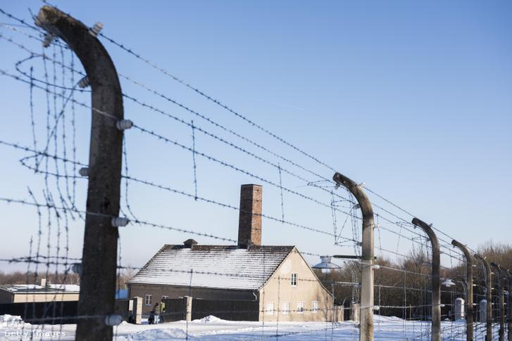 A buchenwaldi koncentrációs tábor 2017-ben.