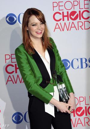 Az interneten leadott szavazatok alapján adományozott díjakból  Emma Stone színésznőnek is jutott
