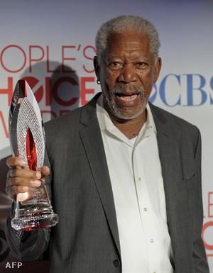 """Morgan Freemant a kedvenc """"filmes ikon"""" díjával tüntették ki"""