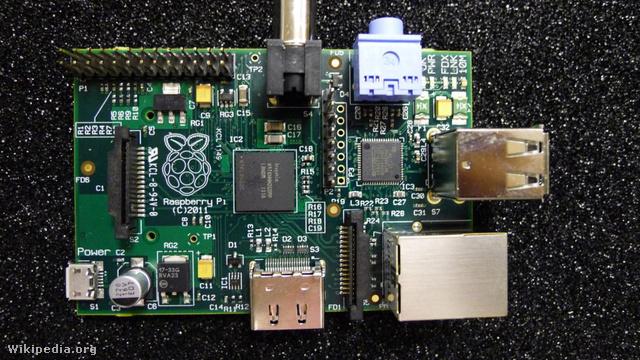 Raspberry Pi Beta (Fotó: raspberrypi.org)