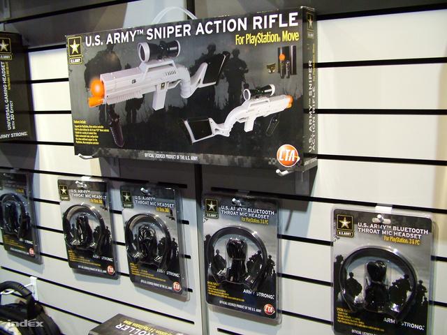 Az amerikai hadsereg puskakontrollerei dobozban is hülyén néznek ki,...