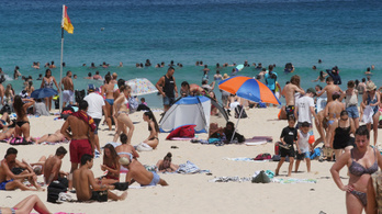 Majdnem 90 fokkal melegebb Ausztrália, mint Amerika