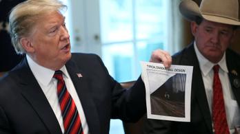 Trump szerint időpazarlás a falépítésről tárgyalni